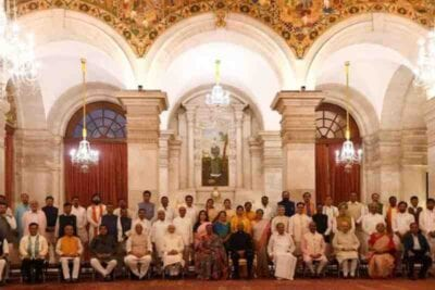 newly formed indian cabinet