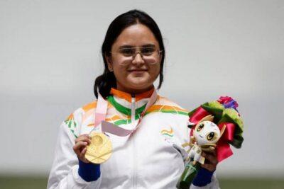 avani lekhara paralympic gold