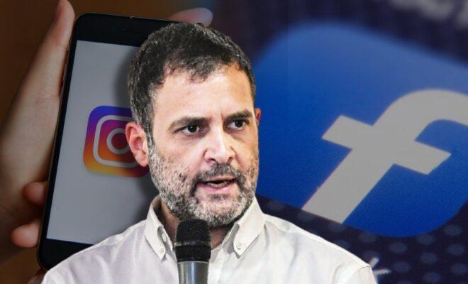 facebook issues notice to rahul gandhi