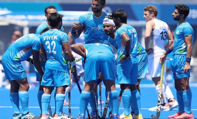 indian men's hockey team lose to belgium