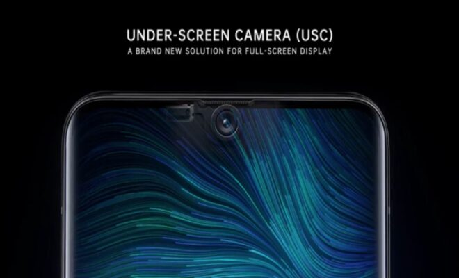 oppo launches new under screen camera