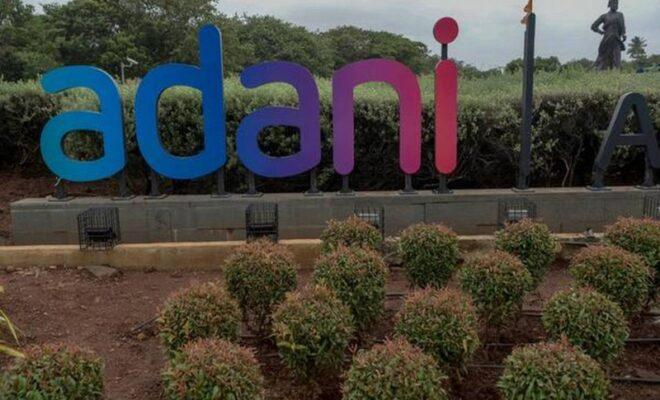 shiv sena workers damage 'adani airport'
