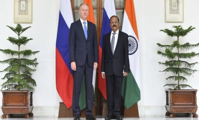 India and Russia Meet over taliban issue