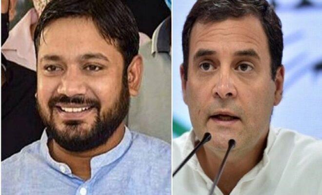 Kanhaiya Kumar may switch to Congress after meeting Rahul Gandhi