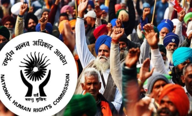 NHRC Seeks Report Over Fate Of Ongoing Farmers Protests