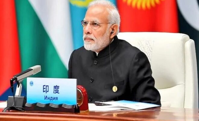 PM Modi talks about Radicalization at SCO summit