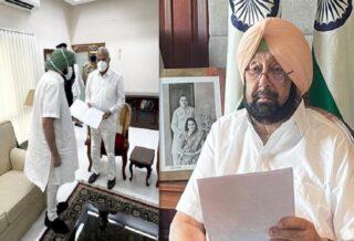Punjab CM Amarinder Singh Resigns