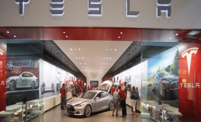 Tesla retail showrooms in India