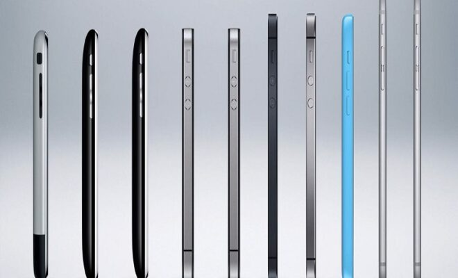 Timeline of Apple iPhone's evolution in 14 years