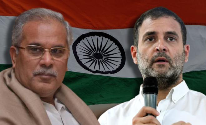 baghel loyalist in delhi prompt leadership change in the state