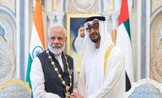 india extends support to uaes robust aid efforts in afghanistan
