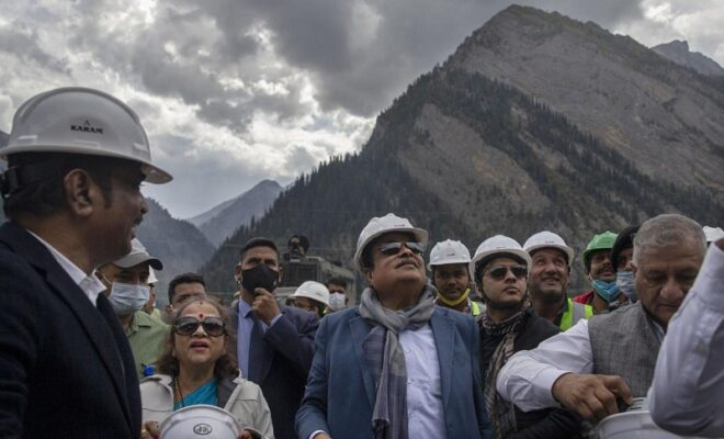 india to connect kashmir valley to ladakh in 932 million