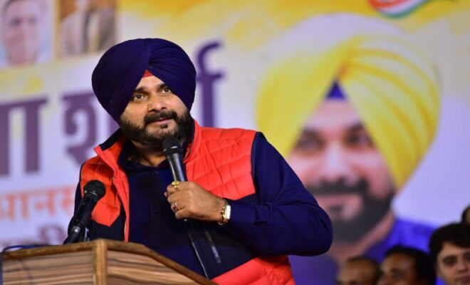 navjot singh sidhu resigns as punjab chief minister allocates new cabinet