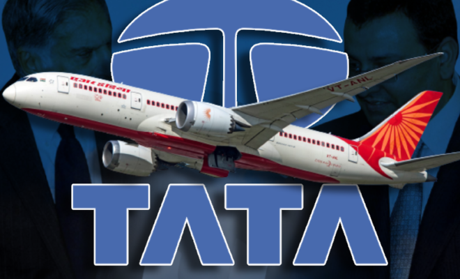 air india to be acquired by tata sons in a bid of rs 300 cr