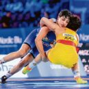 anshu malik becomes first woman from india to clinch a silver in our world wrestling championship