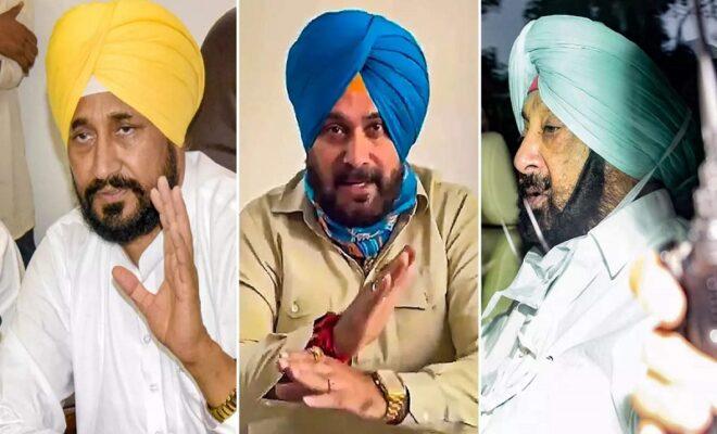 congress plaguing politics in punjab