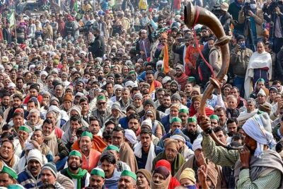 lucknow imposes section 144 over rail roko farmer silent protests