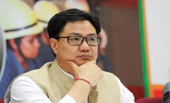 minister kiren rijiju applauded for happy feet amongst locals by pm