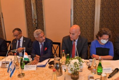 s jaishankar urges israeli businesses to look for investment opportunities in india