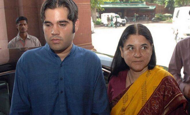 varun maneka gandhi sacked from party over farmer favoritism
